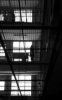 Roma 2000.Rebibbia, Carcere Femminile.Sezione Cellulare.Rome 2000.Rebibbia Prison Women.