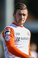 Jack Marriott of Luton Town during the Sky Bet League 2 match between Barnet and Luton Town at The Hive, London, England on 28 March 2016. Photo by David Horn.