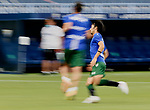 Gaku Shibasaki (RC Deportivo de la Coruna) warms up before La Liga Smartbank match round 39 between Malaga CF and RC Deportivo de la Coruna at La Rosaleda Stadium in Malaga, Spain, as the season resumed following a three-month absence due to the novel coronavirus COVID-19 pandemic. Jul 03, 2020. (ALTERPHOTOS/Manu R.B.)