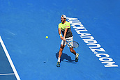 10th January 2018, ASB Tennis Centre, Auckland, New Zealand; ASB Classic, ATP Mens Tennis;  Joao Sousa (POR) during the ASB Classic ATP Men's Tournament Day 3
