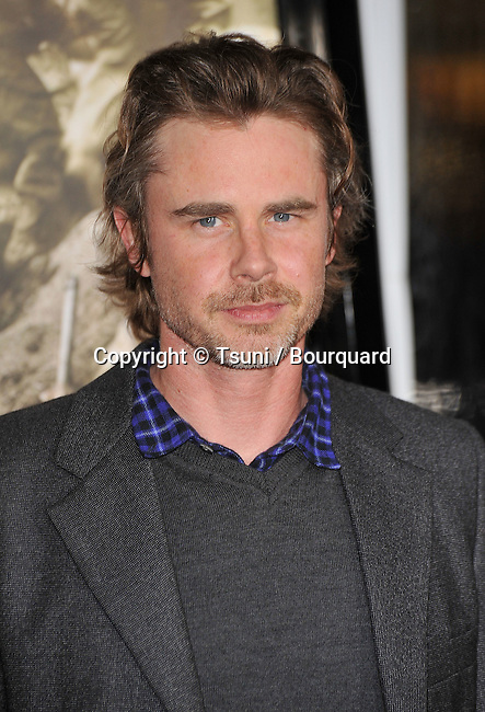 11_ Sam Trammell _11   -<br /> The Pacific HBO Premiere at the Chinese Theatre In Los Angeles.