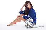Miss Kentucky USA Destin Kincer for the UK Hockey calendar, Sunday Sept. 7, 2014  in Lexington, Ky. Photo by Mark Mahan