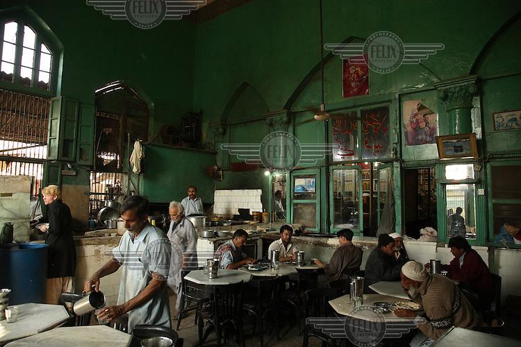 Restaurant in the Empress Market.