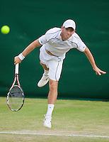 26-6-09, England, London, Wimbledon, 26-6-09, England, London, Wimbledon, Dudi Sela