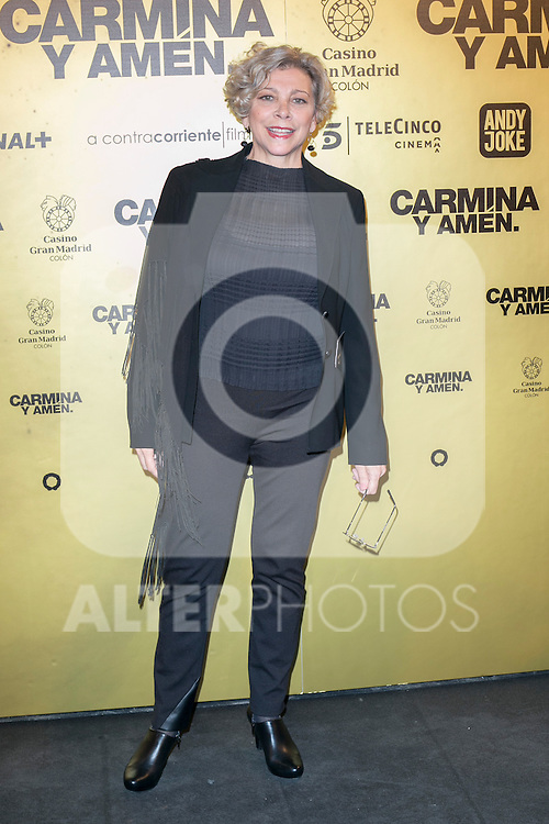 "Spanish Actress Kitty Manver attend the Premiere of the movie ""Carmina y Amen"" at the Callao Cinema in Madrid, Spain. April 28, 2014. (ALTERPHOTOS/Carlos Dafonte)"