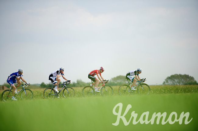 head of the peloton<br /> <br /> stage 1<br /> Euro Metropole Tour 2014 (former Franco-Belge)