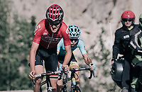 Tiesj Benoot (BEL/Lotto-Soudal) up the Col d'Izoard (HC/2360m/14.1km/7.3%)<br /> <br /> 104th Tour de France 2017<br /> Stage 18 - Briancon › Izoard (178km)