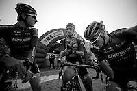 3 Days of De Panne.stage 2..Team Europcar break.