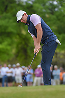 Rory McIlroy (NIR) watches his putt on 1 during day 3 of the WGC Dell Match Play, at the Austin Country Club, Austin, Texas, USA. 3/29/2019.<br /> Picture: Golffile | Ken Murray<br /> <br /> <br /> All photo usage must carry mandatory copyright credit (© Golffile | Ken Murray)