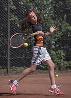 Hilversum, Netherlands, August 10, 2016, National Junior Championships, NJK, Hanna Lindeboom  (NED)<br /> Photo: Tennisimages/Henk Koster