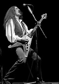 URIAH HEEP - keyboardist and guitarist Ken Hensley - performing live at The Rainbow Theatre in London UK - 06 Mar 1977.  Photo credit: George Bodnar Archive/IconicPix
