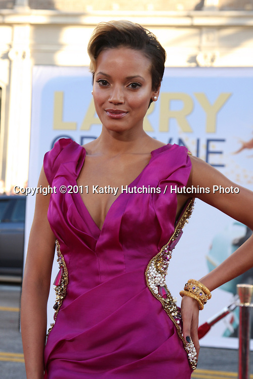"LOS ANGELES - JUN 27:  Selita Ebanks arriving at the ""Larry Crowne"" World Premiere at Chinese Theater on June 27, 2004 in Los Angeles, CA"