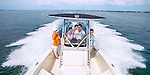 Florida attorney Bill Schifinio and his family boat in Tampa Bay Florida  March 25, 2016.
