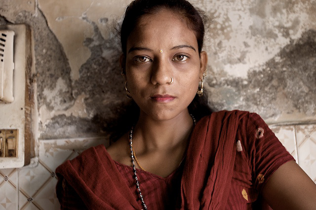 Sangita doesn't know exactly how old she is, perhaps 21, she has a 7 year-old daughter, Laxmi. Sangita will do anything to make sure her daughter does not have to live the same life.