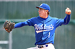 Western Nevada's Matt Young pitches against Utah State University Eastern at Western Nevada College in Carson City, Nev., on Friday, April 29, 2016.<br />Photo by Cathleen Allison/Nevada Photo Source