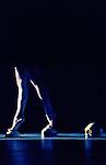 ENTRELACS.. ..Chorégraphie/Scénographie : Lionel Hoche..Conseil à la scénographie : Mathieu Bouvier..Création vidéo interactive : Thierry Fournier..Lumière : Laurent Schneegans..Costumes : Lazare Garcin..Stylisme : Aymeric Bergada du cadet..Danseurs : Céline Debyser, Vincianne Gombrowicz, Romain Cappello, Cyril Geeroms et Lionel Hoche...Musique : Bauhaus, Michael Levinas, Maurice Duruflé, Olivier Messiaen, Arvo Pärt, Alfred Schnittke...Orgue : Adam Vidovic..Lieu : Centre des arts..Cadre : ..Ville : Enghien les Bains..Le : 01/10/10..© Laurent PAILLIER / www.photosdedanse.com All ..Rights reserved