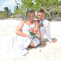 """Pictured: Ricky and Leigha Armstrong during their wedding in Cuba<br /> Re: A newlywed couple whose cannabis factory was found by police while they were honeymooning in Cuba were ordered to repay £1,215 after making more than £90,000.<br /> Ricky and Leigha Armstrong, of Oaklands Road, Pontypool, left the UK to get married in the Caribbean in July 2018.<br /> But they left behind a cannabis farm in their rented property along with a cousin who was """"dog-sitting"""", Newport Crown Court heard.<br /> Suspicious neighbours alerted Gwent Police to the smell and they raided the property."""