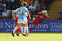 Chris Day of Stevenage saves<br />  - Stevenage v Bradford City - Sky Bet League 1 - Lamex Stadium, Stevenage - 31st August, 2013<br />  © Kevin Coleman 2013