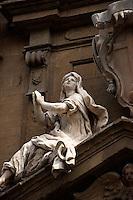 Italien, Toskana, Florenz, Detail der Kirche San Gaetano, Unesco-Weltkuturerbe