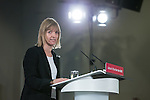 © Joel Goodman - 07973 332324 . 27/01/2015 . Sale , UK . DR ALISON WAGHORN speaks ahead of Ed Miliband . Labour Party Leader , Ed Miliband , delivers a speech on the NHS at The Life Centre in Sale , Greater Manchester . Today (27th January 2015) marks 100 days until the General Election in the UK . Photo credit : Joel Goodman
