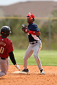 March 22, 2010:  Shortstop Francisco Soriano of the Washington Nationals organization during Spring Training at the Carl Barger Training Complex in Melbourne, FL.  Photo By Mike Janes/Four Seam Images