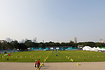 General view, <br /> AUGUST 21, 2018 - Archery : <br /> Women's Recurve Individual Ranking Round <br /> at Gelora Bung Karno Archery Field <br /> during the 2018 Jakarta Palembang Asian Games <br /> in Jakarta, Indonesia. <br /> (Photo by Naoki Morita/AFLO SPORT)