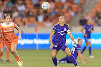 Houston, TX - Friday May 20, 2016: Alex Morgan (13) of the Orlando Pride. The Orlando Pride defeated the Houston Dash 1-0 during a regular season National Women's Soccer League (NWSL) match at BBVA Compass Stadium.