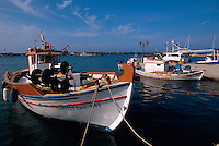 Hafen von Vilchada, Insel Santorin (Santorini), Griechenland, Europa