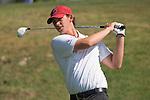 April 13, 2015; Ventura, CA, USA; Loyola Marymount Lions golfer Nick Jan during the WCC Golf Championships at Saticoy Country Club.