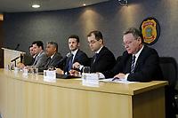 CURITIBA, PR, 28.03.2017 - LAVA-JATO –  Delegados e procuradores da república, durante coletiva de imprensa referente a 39 fase da operação lava jato na sede da policia federal em Curitiba (PR) na manhâ desta terça-feira (28). (Foto: Paulo Lisboa/Brazil Photo Press)