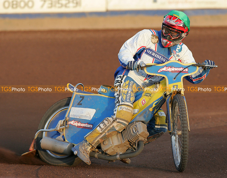 Jonas Davidsson of Reading - Lakeside Hammers vs Reading Bulldogs - Elite League Speedway at Arena Essex - 20/06/07 - MANDATORY CREDIT: Gavin Ellis/TGSPHOTO - SELF-BILLING APPLIES WHERE APPROPRIATE. NO UNPAID USE -  Tel: 0845 0946026