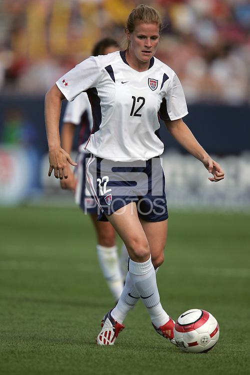 Cindy Parlow, USA vs China, 2004.