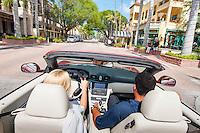 Good Morning World !!! Cruisin' along Fifth Avenue South, Naples, Florida, USA, Photo by Debi Pittman Wilkey.