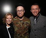 Barbara Olcott, Matt Gould and Andrew Lippa attends The Dramatists Guild Foundation Salon with Matt Gould on March 12, 2018 at StellarTower in New York City.