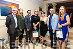 Pictured at the Muckross Park Hotel & Spa for the Derry Clarke Fine Dining Experience on Friday were l-r; Colin Lacey, Catherine Carty, Gabriel Mayr, Becky Hargrove, Mary Rose Stafford, Paudie Healy & Caitríona Doran.