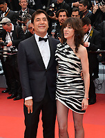 """CANNES, FRANCE. May 14, 2019: Javier Bardem & Charlotte Gainsbourg at the gala premiere for """"The Dead Don't Die"""" at the Festival de Cannes.<br /> Picture: Paul Smith / Featureflash"""