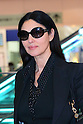 Italian actress Monica Bellucci arrives in Tokyo