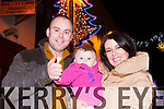 Thumbs up the the Killarney New Years Eve concert from Justin, Éabha and Joanne Kearney Killarney