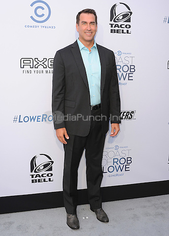 LOS ANGELES - AUGUST 27:  Rob Riggle at the Comedy Central Roast of Rob Lowe at Sony Studios on August 27, 2016 in Los Angeles, California.MPi99 / MediaPunch