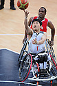 London Paralympics 2012 Wheelchair Basketball Men's Primary Round Between Canada 68-53 Japan