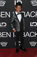 NE WYORK, NY - DECEMBER 3: Jakari Frazier at the New York Premiere Of Ben Is Back at AMC Loews Lincoln Square in New York City on December 3, 2018. <br /> CAP/MPI/JP<br /> &copy;JP/MPI/Capital Pictures