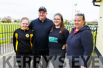 """Katie, Tommy and Amy Noughton and Grace Healy at the Paul Lucey Memorial """"Run for the Rock"""" in the Austin Stack GAA Club on Monday morning."""
