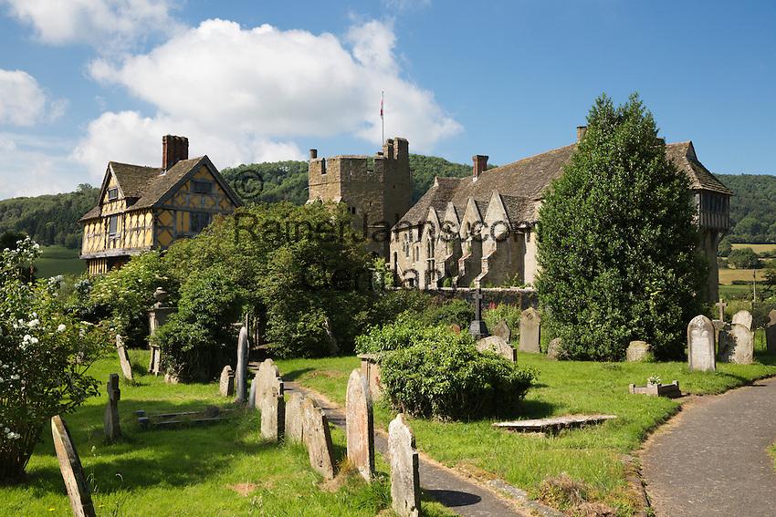 United Kingdom, England, Shropshire, Craven Arms: Stokesay Castle | Grossbritannien, England, Shropshire, Craven Arms: Stokesay Castle