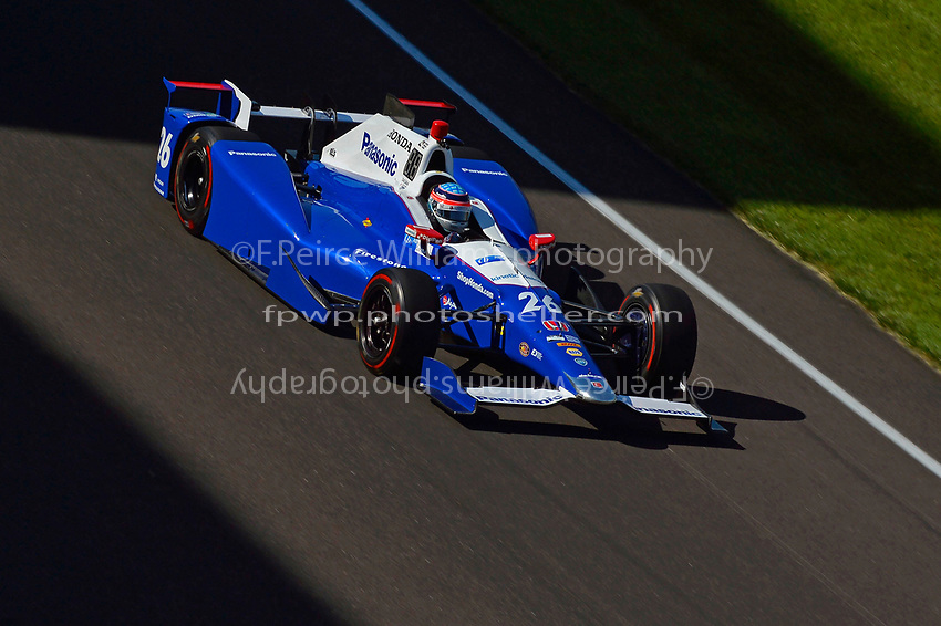 Verizon IndyCar Series<br /> Indianapolis 500 Practice<br /> Indianapolis Motor Speedway, Indianapolis, IN USA<br /> Monday 15 May 2017<br /> Takuma Sato, Andretti Autosport Honda<br /> World Copyright: F. Peirce Williams