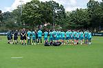28.07.2020, Trainingsgelaende am wohninvest WESERSTADION,, Bremen, GER, 1.FBL, Werder Bremen Training U23, im Bild<br /> <br /> Thomas Schaaf (Technischer Direktor SV Werder Bremen) gibt die Begruessung vor dem Training re Konrad Fünfstück / Fuenfstueck (Trainer SV Werder Bremen II)<br /> <br /> <br /> <br /> Foto © nordphoto / Kokenge