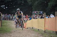 Corne Van Kessel (NED/Telenet-Fidea)<br /> <br /> Brico-cross Geraardsbergen 2016<br /> U23 + Elite Mens race