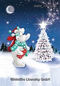 Roger, CHRISTMAS ANIMALS, WEIHNACHTEN TIERE, NAVIDAD ANIMALES, paintings+++++,GBRM19-0075,#xa# ,ice bear,polar bear