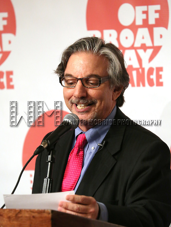 Peter Breger  attending The 3rd Annual Off Broadway Alliance Awards Reception at Sardi's Restaurant in New York City on June 18, 2013
