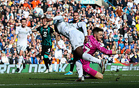 Leeds United's Eddie Nketiah goes close in the final moments<br /> <br /> Photographer Alex Dodd/CameraSport<br /> <br /> The EFL Sky Bet Championship - Leeds United v Swansea City - Saturday 31st August 2019 - Elland Road - Leeds<br /> <br /> World Copyright © 2019 CameraSport. All rights reserved. 43 Linden Ave. Countesthorpe. Leicester. England. LE8 5PG - Tel: +44 (0) 116 277 4147 - admin@camerasport.com - www.camerasport.com