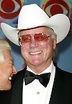 Larry Hagman and his wife  ( DALLAS ).Attend CBS AT 75, a three hour entertainment extravaganza commemorating CBS's 75th Anniversary, which will be  broadcast live from the Hammerstein Ballroom at New York's Manhattan Center in New York City..November 2, 2003.